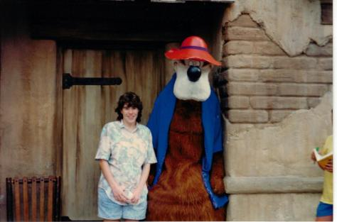 Brer Bear in Magic Kingdom 1990