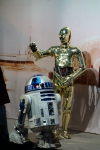 C3PO and R2D2 Star Wars Weekends 2013 - Droids