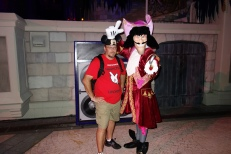 Capt Hook at Mickey's Not So Scary Halloween Party 2012