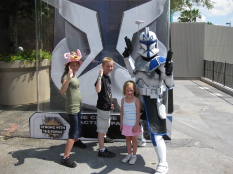 Captain Rex at Star Wars Weekends 2009