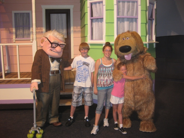 Carl and Dug at Pixar Weekend 2011