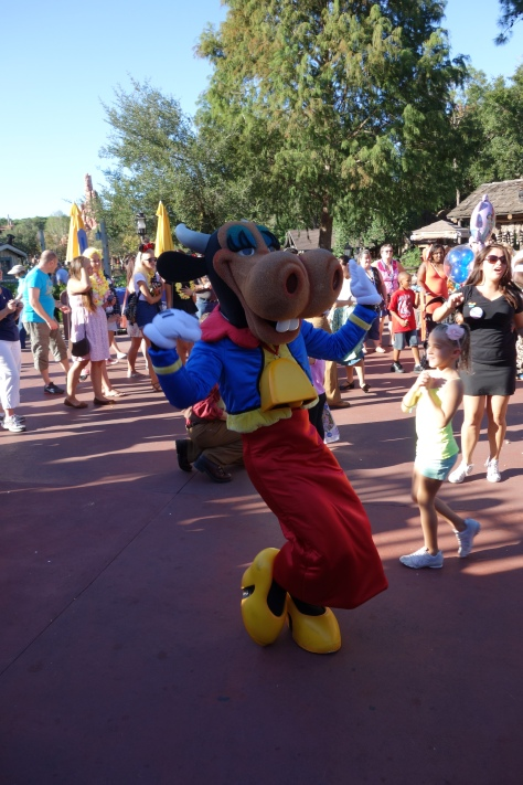 Clarabelle at Frontierland Hoedown 2012