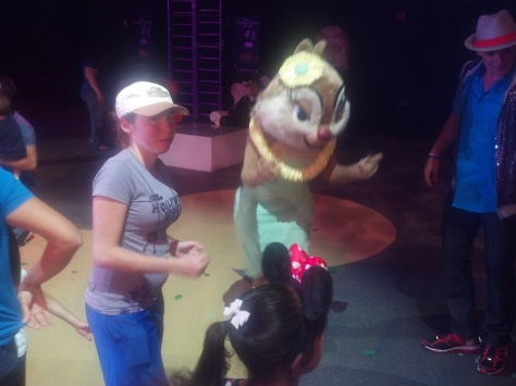Clarice at Dancing with Disney in California Adventure 2012