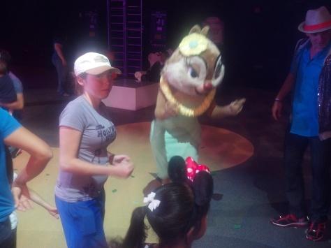 Clarice at Dancing with Disney in California Adventure 2012