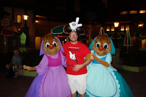 Suzy and Perla at Mickey's Not So Scary Halloween Party 2012 (Random appearance)