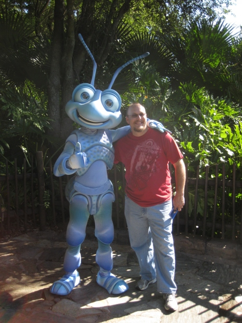 Flik at Animal Kingdom 2010