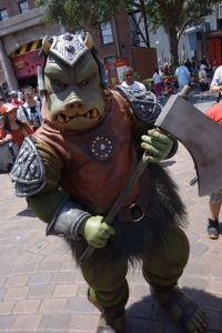 Gamorrean Guard Star Wars Weekends 2013 (1)