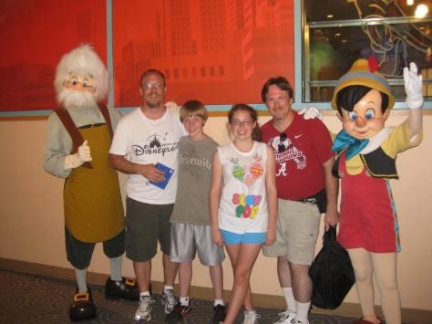Gepetto & Pinocchio 2011