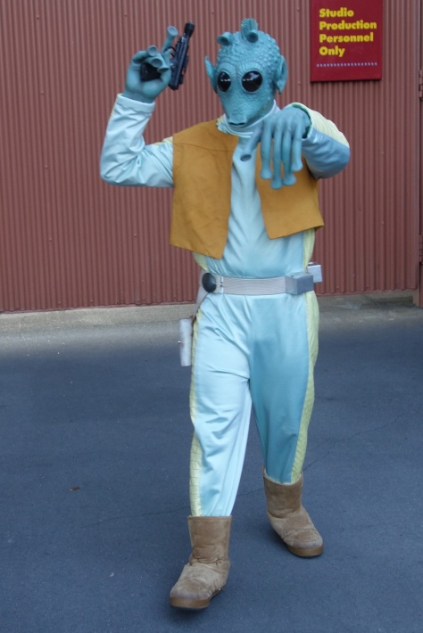Greedo,  Star Wars Weekends 2013, Hollywood Studios