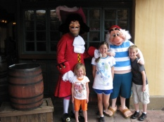 Walt Disney World, Magic Kingdom Characters, Adventureland, Captain Hook, Mr. Smee