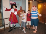 Capt Hook and Mr. Smee at Character Palooza 2010