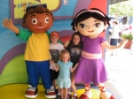 Walt Disney World, Hollywood Studios Characters, Little Einsteins, Quincy, June