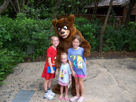 Koda in Animal Kingdom 2006