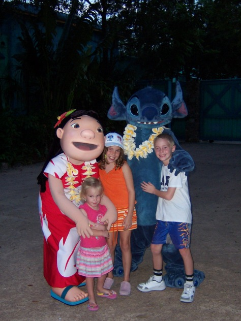 Lilo and Stitch at Animal Kingdom 2006