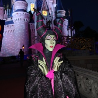 Maleficent face character receives new look for in-park meets
