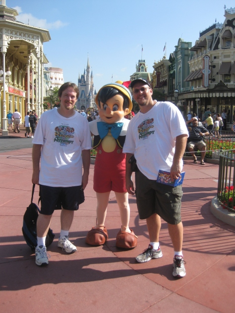Pinocchio in Magic Kingdom 2010