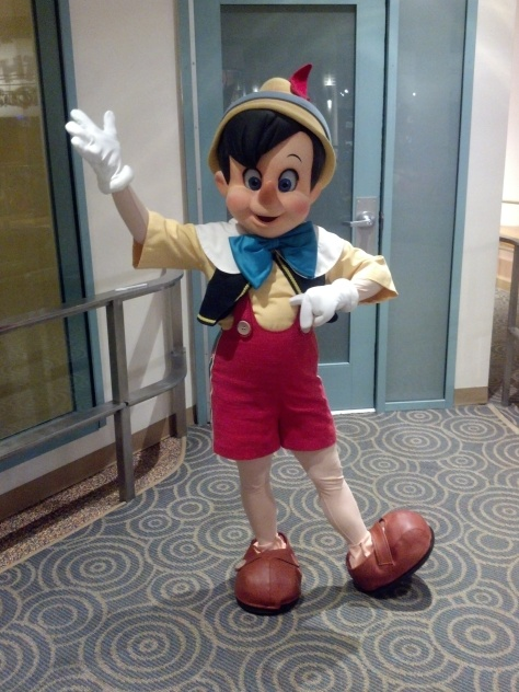 Pinocchio at Character Palooza in 2012