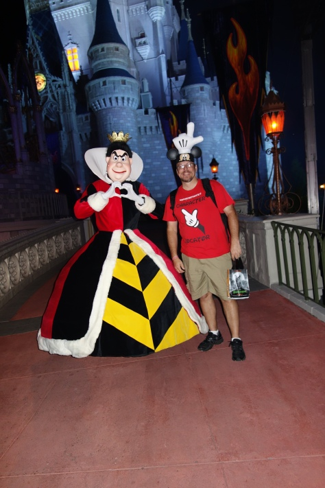 Queen of Hearts 2012 Mickey's Not So Scary Halloween Party