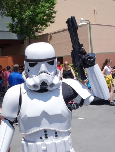 Storm Trooper Star Wars Weekends 2013 - bad guys on backlot