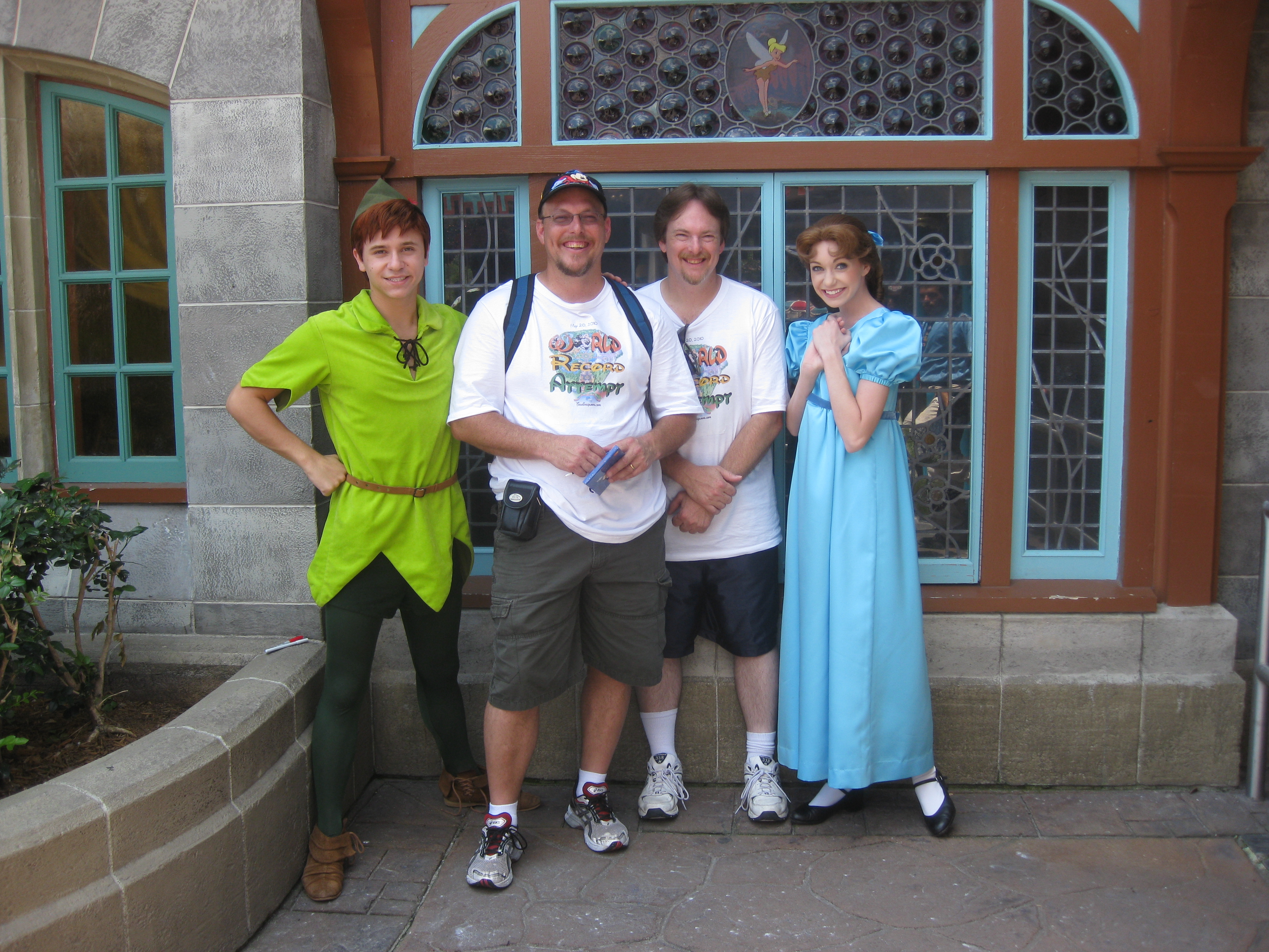 Wendy kennythepirates unofficial guide to disney world peter pan and wendy 2010 kristyandbryce Image collections