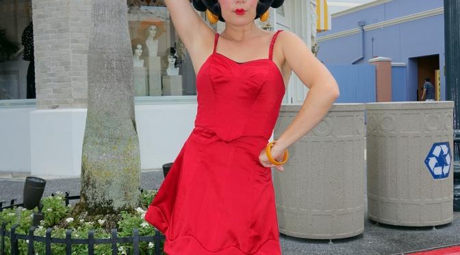 Betty Boop at Universal Studios Orlando