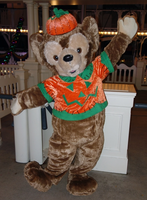 Duffy at Mickey's Very Merry Christmas Party 2012