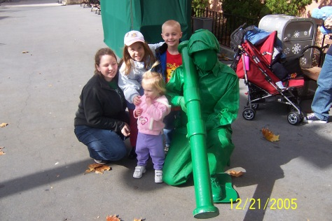 Green Army Man at Hollywood Studios 2005