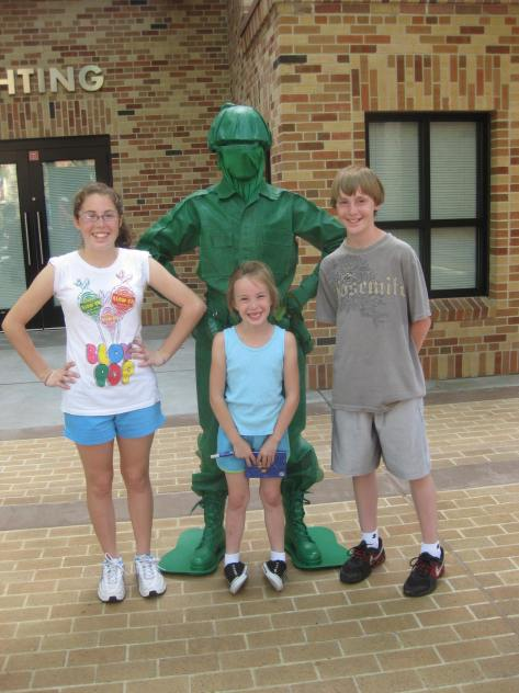 Green Army Man at Hollywood Studios 2011