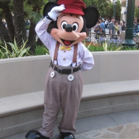 California Adventure new character costume photos