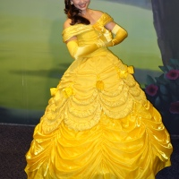 Belle at Town Square Theater and Toontown in Magic Kingdom