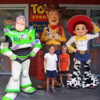 Buzz Lightyear in Hollywood Studios