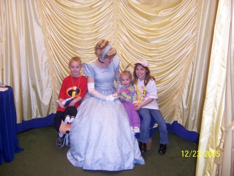Cinderella at Toontown in Magic Kingdom 2005