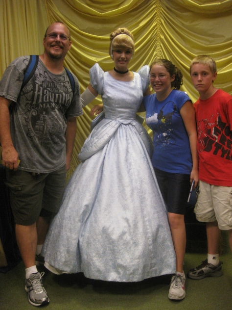 Cinderella at Toontown in Magic Kingdom 2010