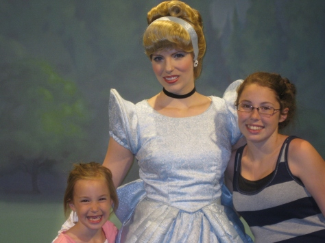 Cinderella at Town Square Theater in Magic Kingdom 2011