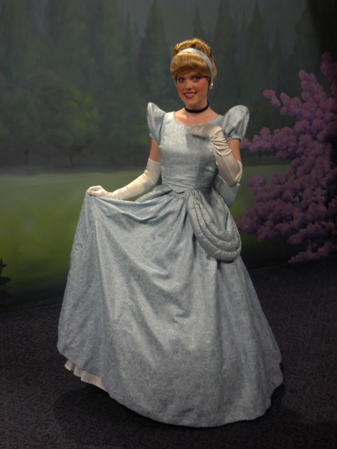 Cinderella at Town Square Theater in Magic Kingdom 2012