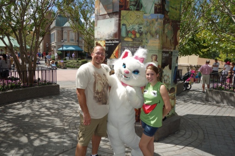 Marie the Cat before she was moved to the Magic Kingdom - September 2012