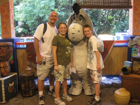 Eeyore Animal Kingdom 2010