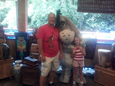 Eeyore Animal Kingdom 2012