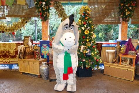 Eeyore Animal Kingdom Christmas 2012