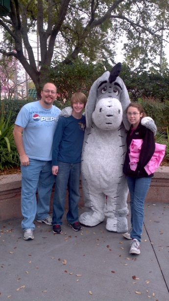 Eeyore Hollywood Studios 2012