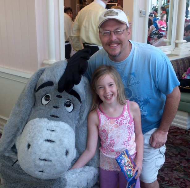 Eeyore - Magic Kingdom Crystal Palace 2012