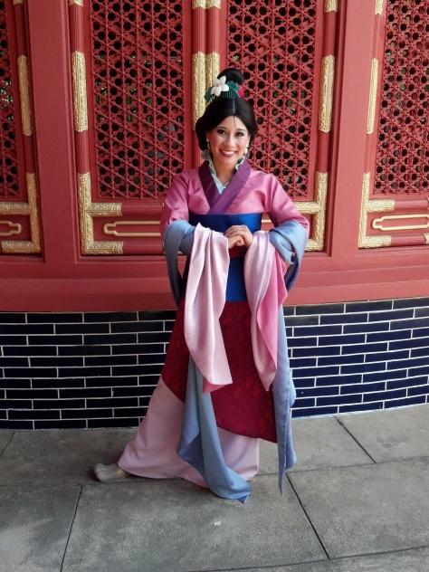 Mulan Epcot 2012