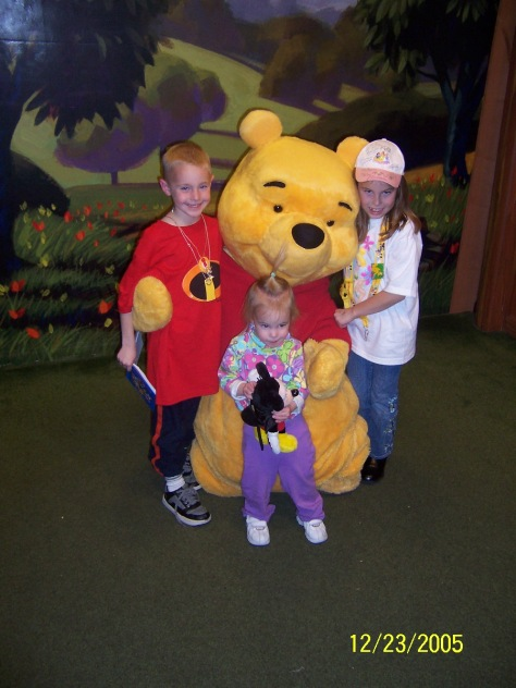 Tigger and Pooh Toontown Magic Kingdom 2005