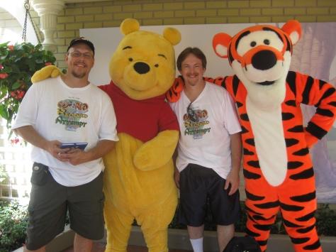 Tigger and Pooh City Hall Magic Kingdom