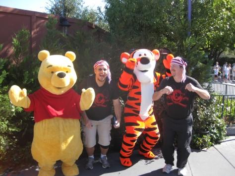Tigger and Pooh Fantasyland Magic Kingdom 2010