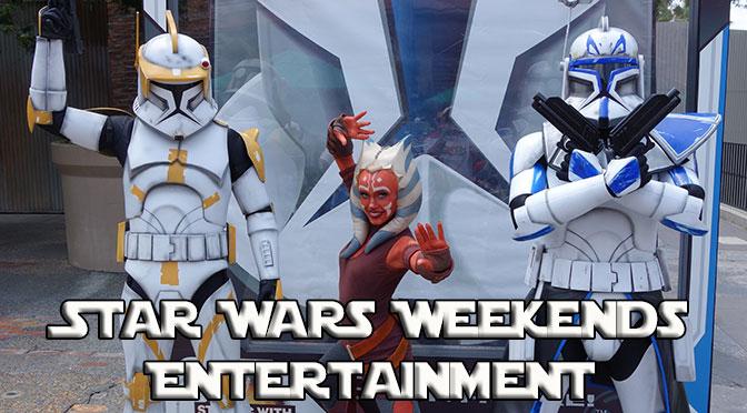Star Wars Weekends Entertainment Schedules