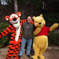 Winnie the Pooh and Tigger - Magic Kingdom  Fantasyland