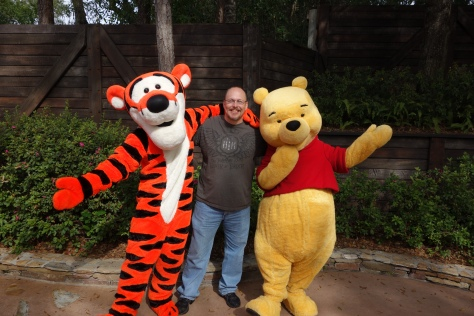 Tigger and Pooh Magic Kingdom 2013