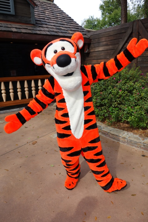 Tigger Magic Kingdom 2013