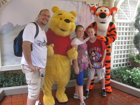 Tigger and Pooh City Hall Magic Kingdom 2010